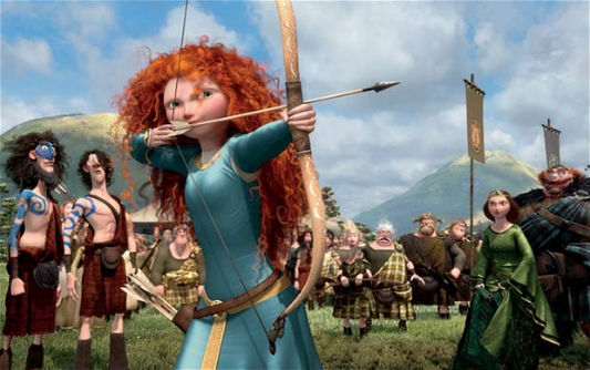 Merida the archer
