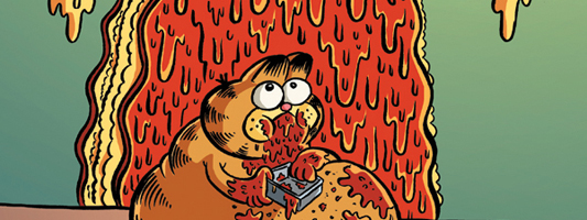 Garfield #10 cover B