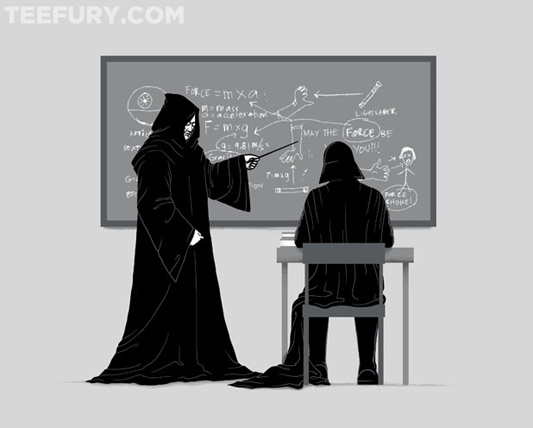 Star Wars Physics 101: Force Shirt