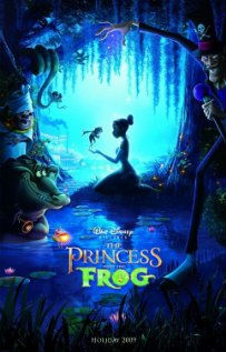 """The Princess and the Frog"" poster"