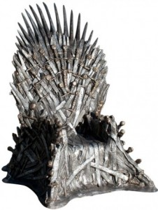 Life Size Game of Thrones Iron Throne