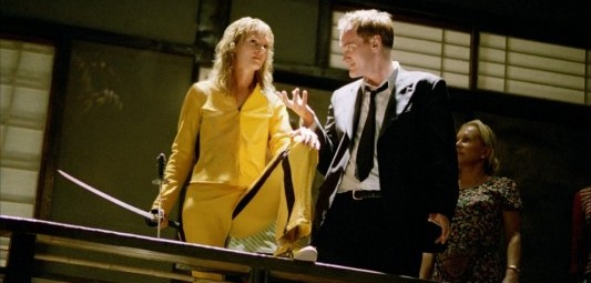 Quentin Tarantino Uma Thurman Kill Bill