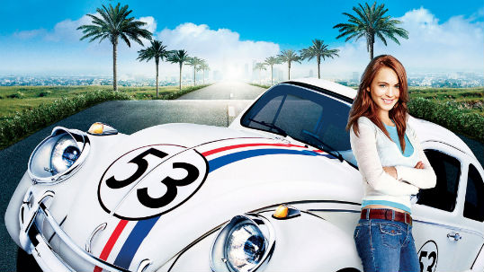"One movie that should not have its own ride: ""Herbie: Fully Loaded"""