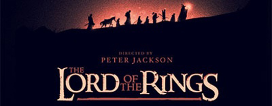 Olly Moss Lord of the Rings Variant Poster Header