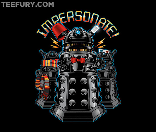 Doctor Who IMPERSONATE! Shirt