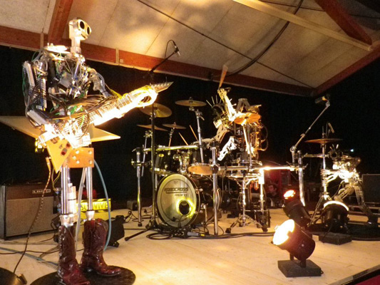 Robot Band Compressorhead