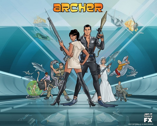 Archer  Season 7 In Character  FX  YouTube