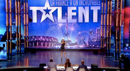 France's Incroyable Talent Rachel La Voix D'Homme