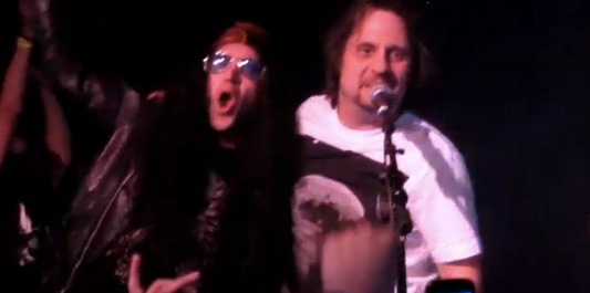 Slayer's Dave Lombardo With Metalachi