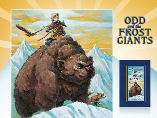 Neil Gaiman Odd and the Frost Giants
