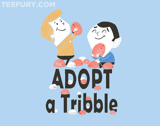 Star Trek Adopt a Tribble Shirt