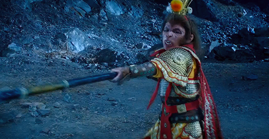The Monkey King in Journey to the West