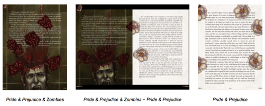 Pride and Prejudice and Zombies: The Interactive eBook App