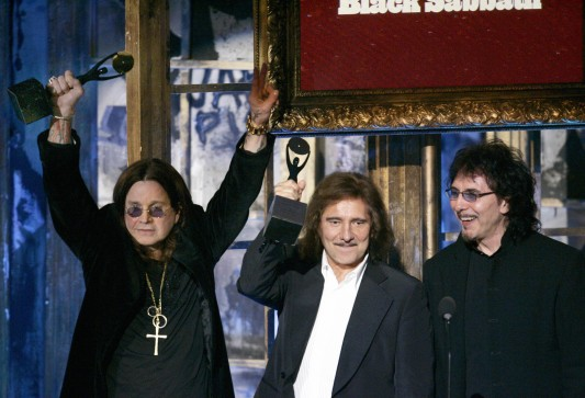 Ozzy, Geezer and Tony