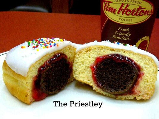 Tim Hortons The Priestley Donut