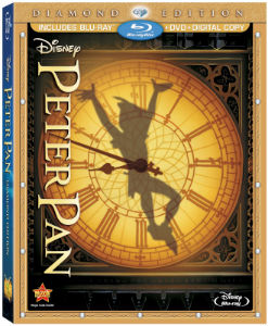 Peter Pan Blu-ray cover