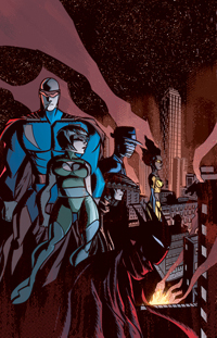 The Victories, Series 2 #1 cover by Michael Avon Oeming