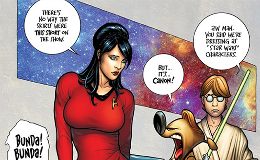 Brandy's Star Trek Cosplay - by Frank Cho