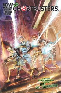 The New Ghostbusters #1