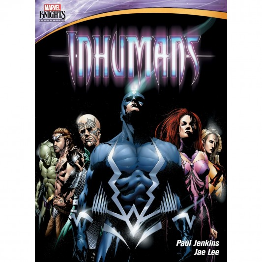 Marevel Knights Animations Inhumans DVD