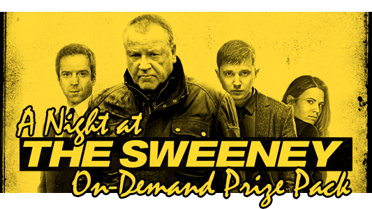 A Night at The Sweeney contest banner