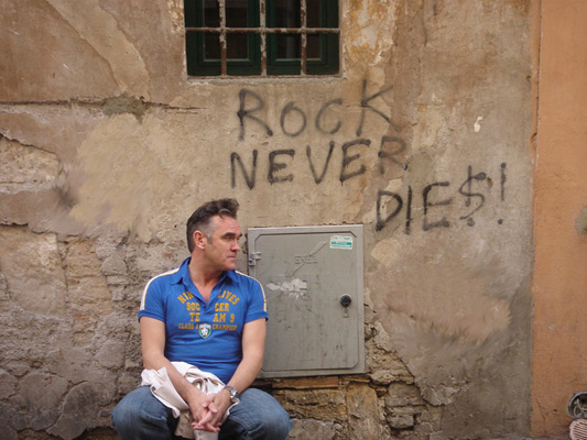 Morrissey in Rome - Rock Never Dies