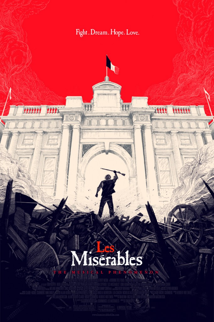 Olly Moss Les Miserables