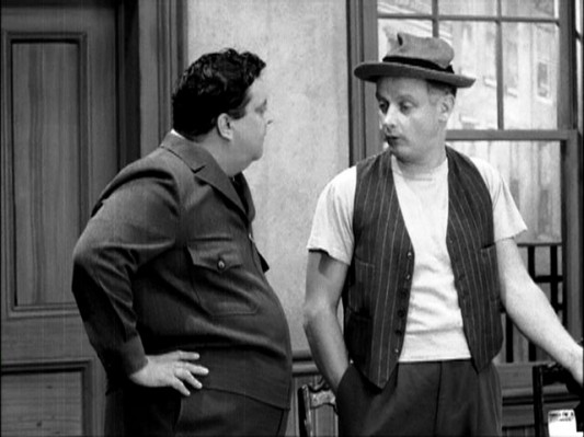 Jackie Gleason and Art Carney