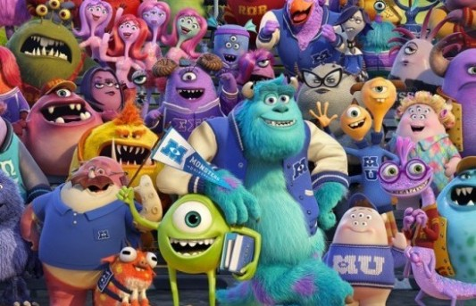 Monsters University Header Image