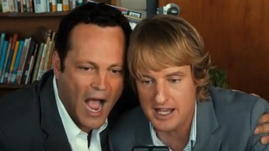 Vince Vaughn & Owen Wilson in Shawn Levy's The Internship