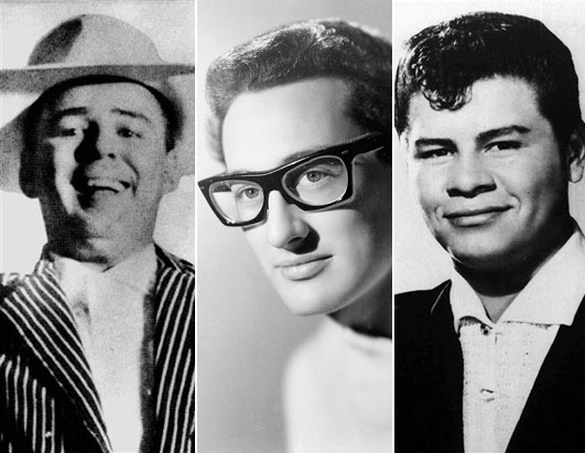Buddy Holly, Ritchie Valens and The Big Bopper