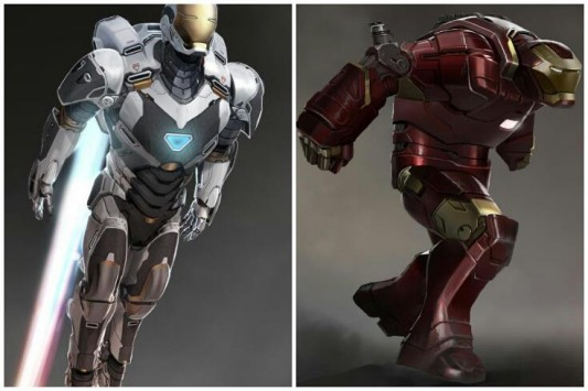 Iron Man 3' Concept Designs Reveal Space Suit & Hulkbuster