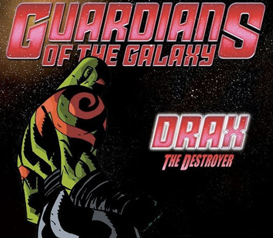 Guardians of the Galaxy Infinite #1 Drax