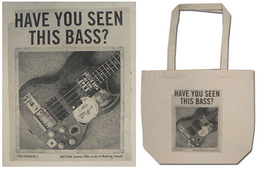 Mike Watt Tote Bag Record Story Day 2013