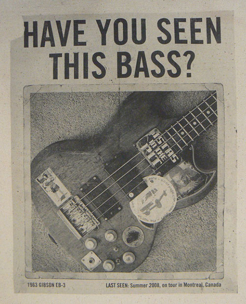 Mike Watt Tote Bag Have You Seen This Bass?
