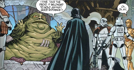 Comic Review: Star Wars Omnibus: Infinities Jabba The Hutt And Leia Fanfiction