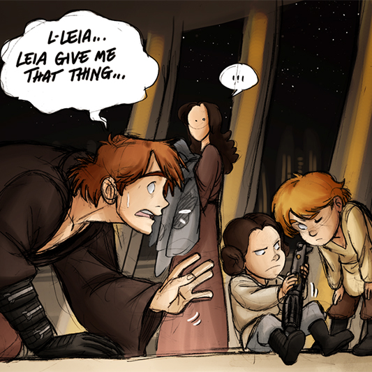 What if Anakin Skywalker had NOT turned to the Dark Side?