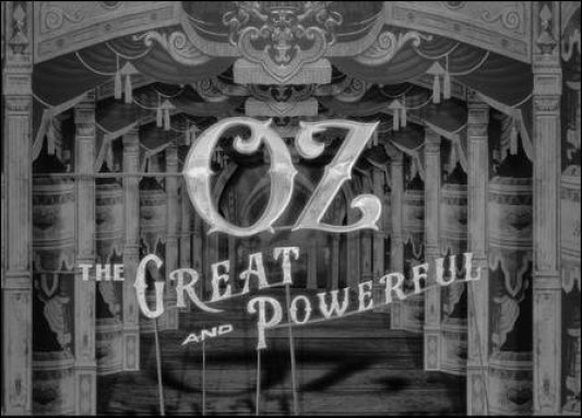 Oz the Great and Powerful Opening