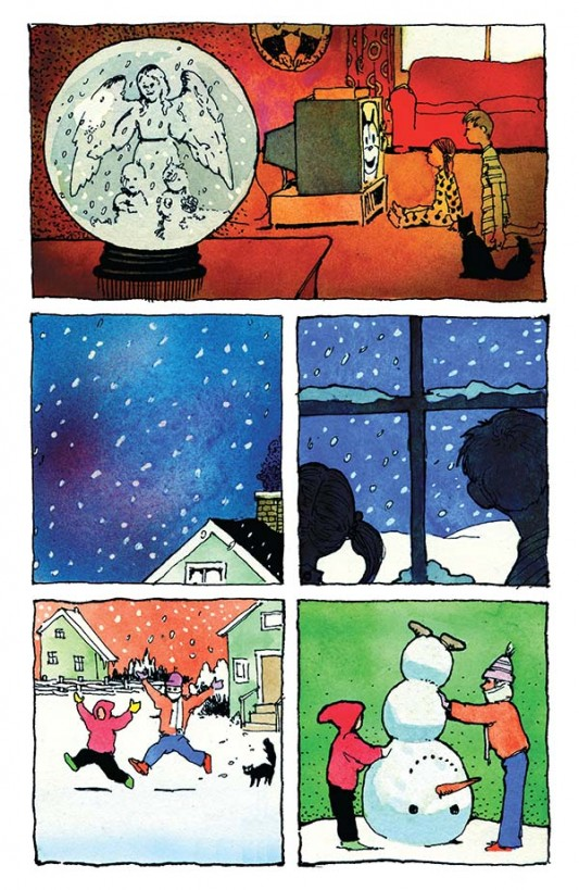 David Chelsea's Snow Angel preview page