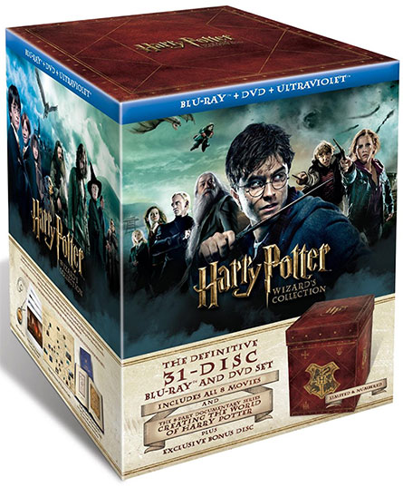 Harry Potter Wizard's Collection Blu-ray Combo Box Set