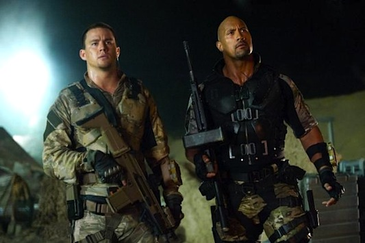G.I. Joe: Retaliation - The Rock and Channing Tatum
