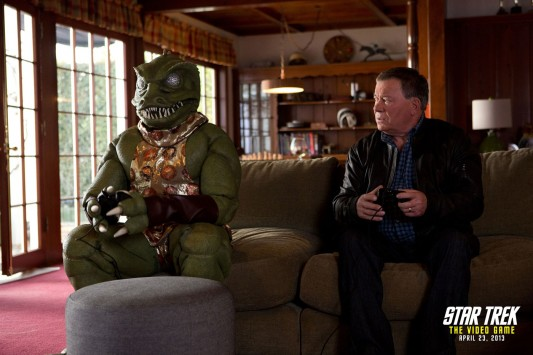 William Shatner Gorn Rematch For Star Trek: The Video Game
