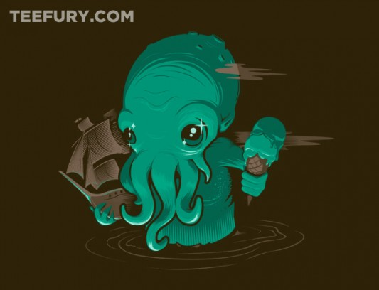 Lovecraft Cute-thulhu Shirt