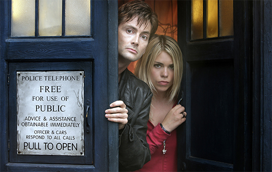 David Tennant & Billie Piper Return For Doctor Who 50th; Joined By John Hurt!