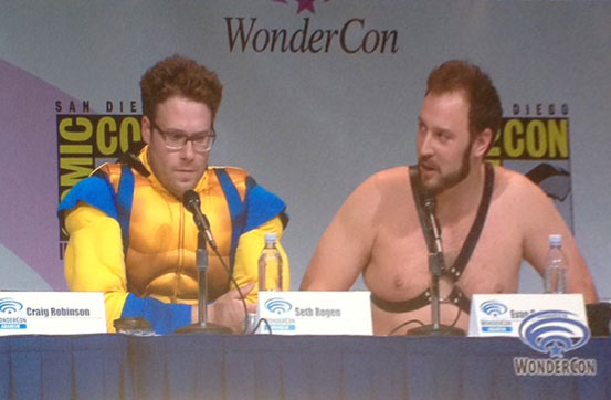 Seth Rogen and director Evan Goldberg 04