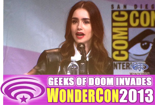 WonderCon 2013: The Mortal Instruments: City of Bones panel