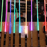 WonderCon 2013: Convention photos: Star Wars Lightsabers