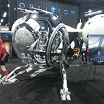 WonderCon 2013: Convention photos: Oblivion ship