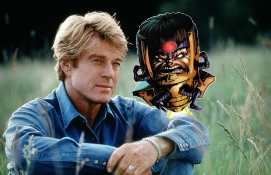 Robert Redford and Modok