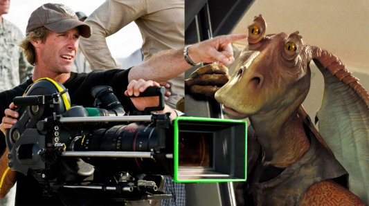 Michael Bay Jar Jar Binks
